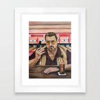 Walter / The Big Lebowsk… Framed Art Print
