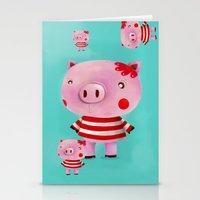 Piglet Stationery Cards