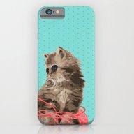 Messy Lil Cat iPhone 6 Slim Case