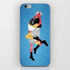 Glitter Fight iPhone & iPod Skin