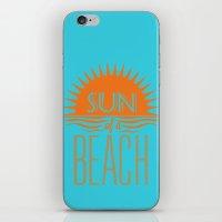 Sun Of A Beach iPhone & iPod Skin