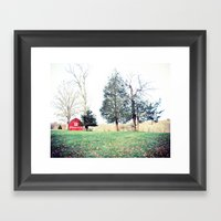 Till The Cows Come Home Framed Art Print