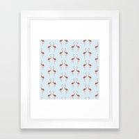 Flamingo / Flamenco  Framed Art Print