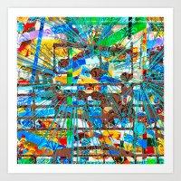 Vargamari (Goldberg Variations #11) Art Print