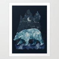The Great Bear Art Print