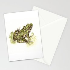 Northern Leopard Frog Stationery Cards