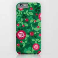 iPhone & iPod Case featuring Lingonberries by Tove Andersson