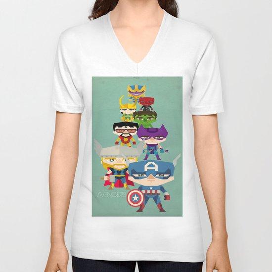 avengers 2 fan art V-neck T-shirt