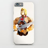 Polygon Heroes - He-Man iPhone 6 Slim Case