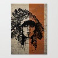 Look Inside -Alt Canvas Print