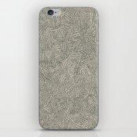 Scanned Image 4 iPhone & iPod Skin