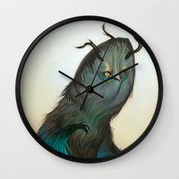 Mischievous Chacac Wall Clock
