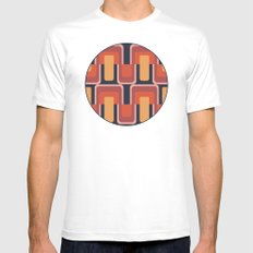 MCM Coaster SMALL Mens Fitted Tee White