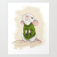 Stuart Little Art Print