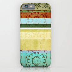 Textile - Green Slim Case iPhone 6s