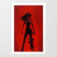 Cherry Darling Art Print
