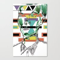Rectangle Meets Square Canvas Print