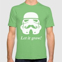 Bearded Trooper Mens Fitted Tee Grass SMALL