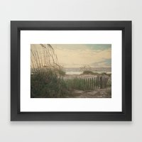 Summer Is Almost Over...… Framed Art Print