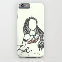 Pocahontas Zen Tangle iPhone 6 Slim Case