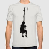 Of Age Mens Fitted Tee Silver SMALL