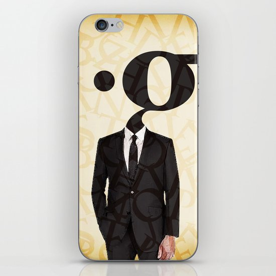 mr .g in a suit iPhone & iPod Skin