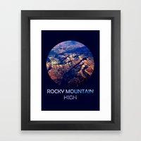 Rocky Mountain High Framed Art Print