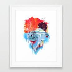 Middle Of Nowhere Framed Art Print