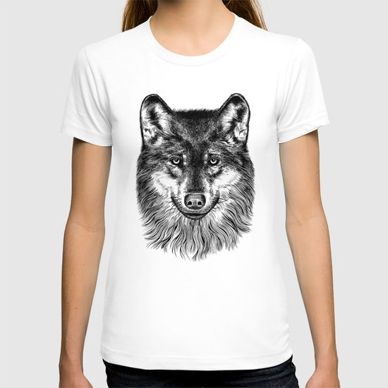 Canis Lupus (Gray Wolf) T-shirt