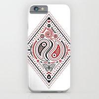 83 Drops - Diamonds (Red & Black) iPhone 6 Slim Case