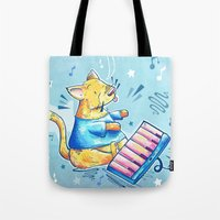 Keyboard Cat Says Thank … Tote Bag