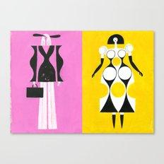 Painted Ladies Canvas Print