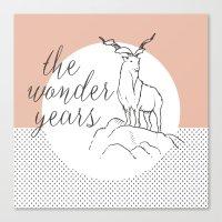 the wonder years Canvas Print