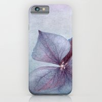 BLUE HYDRANGEA PETAL iPhone 6 Slim Case