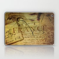 I ♥ France Laptop & iPad Skin