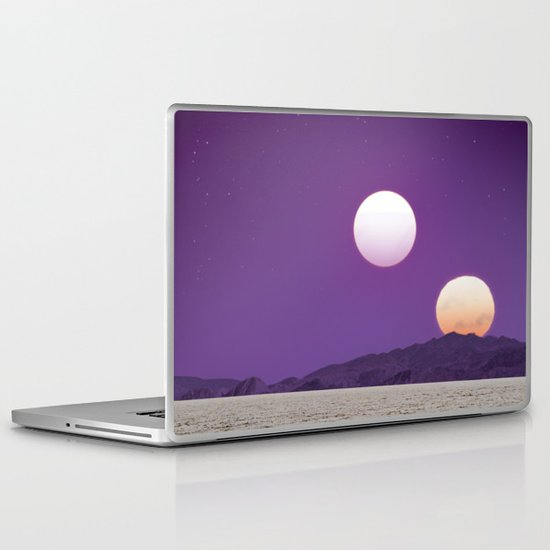 Binary Sunset Laptop & iPad Skin