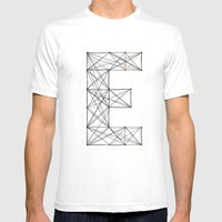 Ersilia Mens Fitted Tee White SMALL