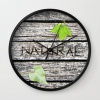 Natural Wall Clock