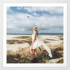We Need the Roots to Grow and the Wings to Fly Art Print