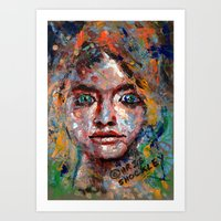 eager anticipation Art Print