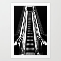 Up Or Down Art Print