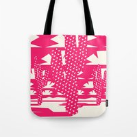 Red Dessert Tote Bag