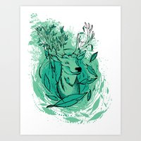 THE WOODS WHERE YOU LIVE… Art Print