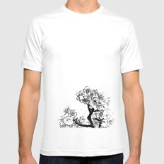 Cherry Blossom #7 Mens Fitted Tee White SMALL
