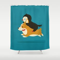 Like The Wind Shower Curtain