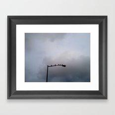 Morning Birds Framed Art Print