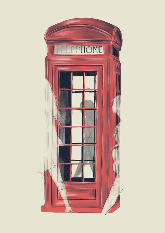No Place Called Home Art Print