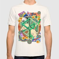 Life, As Many People Hav… Mens Fitted Tee Natural SMALL