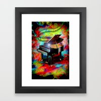 Psychedelic Baby Grand Framed Art Print