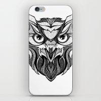 Owl - Drawing iPhone & iPod Skin